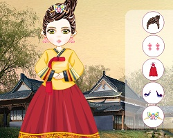 Oriental Girl Dress Up