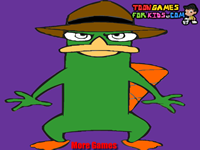 Perry The Platypus Coloring