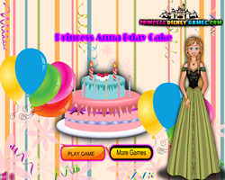 Princess Anna Bday Cake