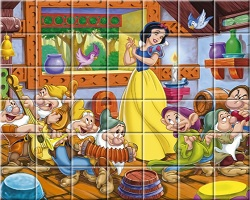 Snow White Spin Puzzle