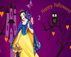 Sort My Tiles Snow White Halloween