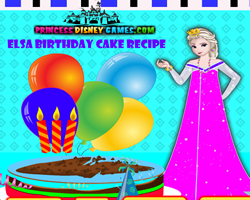 Elsa Birthday Cake Recipe