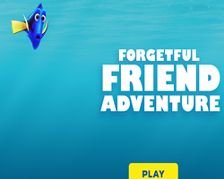 Finding Dory Forgetful Friend Adventure