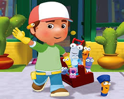 Handy Manny Hidden Letters