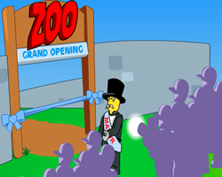 Lego Zoo Grand Opening