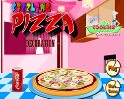 Sizzling Pizza Decoration