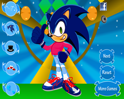Super Sonic Dress Up